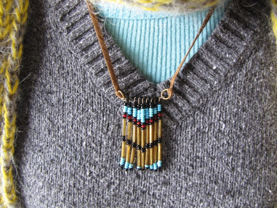 Native American Inspired One of a Kind Necklace