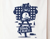Grin and Bear it 100% Cotton Tea Towel