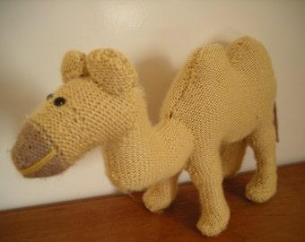 Handmade Knitted Camel