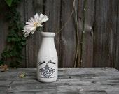 Vintage Ceramic Cream Carafe from the Danville Hotel