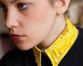 Yellow Collar Necklace