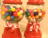 Gum Ball Machine Candy Dish-Personalized