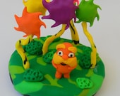 Polymer Clay Sculpture- The Lorax
