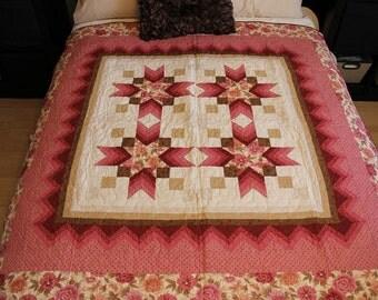 Floral Star Quilt