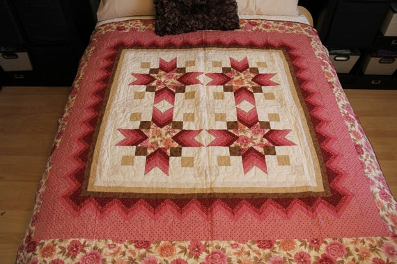 Floral Star Quilt