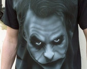 "Airbrushed ""JOKER"" Tshirt"
