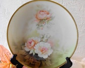 Antique Handpainted Plates. five available, R S Germany.