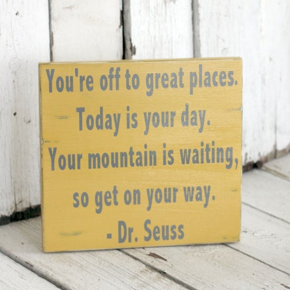Dr Seuss Mountain Quote: Unavailable Listing On Etsy