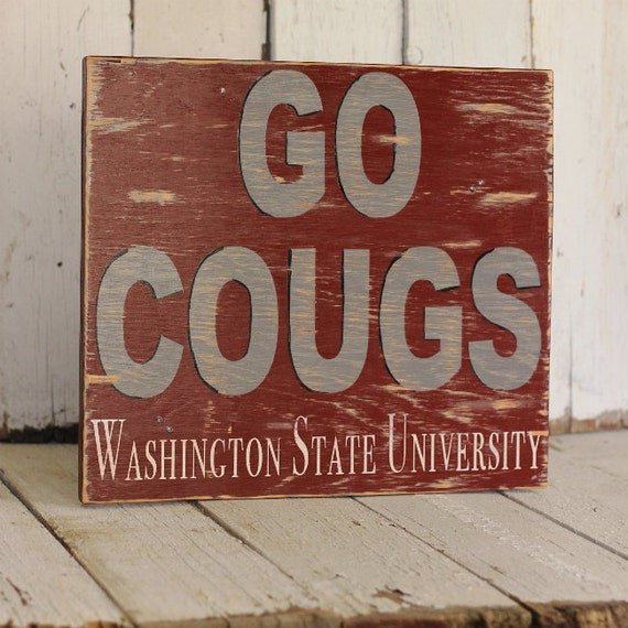 Traci L. - College Sign- distressed home decor, wall art, college, school, painted wood sign