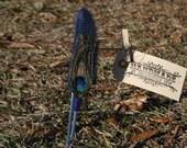 Skinny Peacock Headband