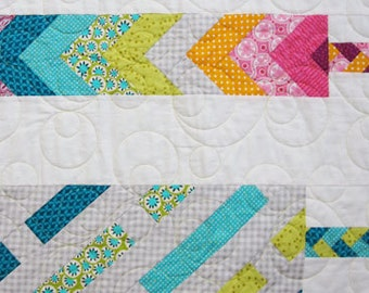Retro Friendship Bracelets PDF Quilt Pattern