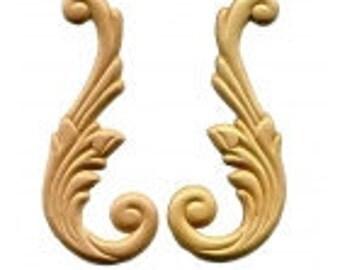 Wings Pair Birch Applique -