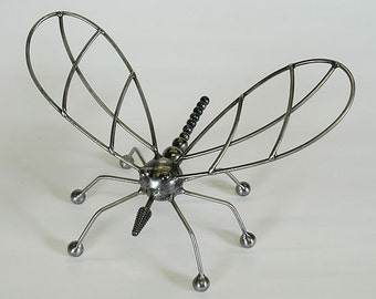The Bug - Modern Giant Steel Insect Sculpture by Bruce Gray
