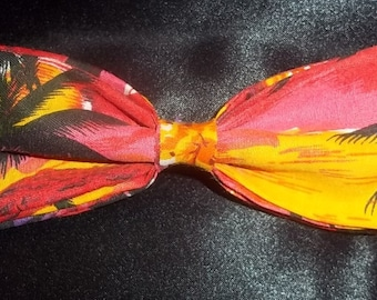 Aloha - A Perfect Bowtie for the Hawaiian Shirt Lover - Look Dressy All Summer - And As Always, U.S.SHIPPlNG lS NEVER MORE THAN 1.99
