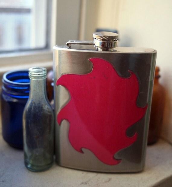 Pink Blast 8 oz. Flask