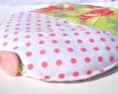 Aromatherapy Heating Pad, Lavender Aromatherapy, Soothing CrampCake, Designer Fabric Amy Butler