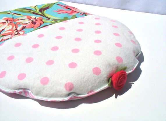 Heating Pad, Heating Pad with Lavender, Natural Heating Pad, Designer Fabric Heating Pad. CrampCake