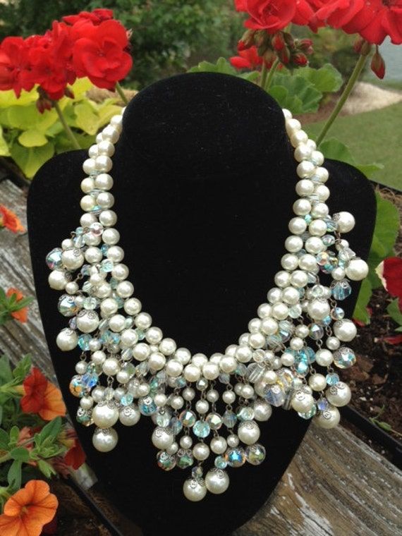 Vintage Vendome Signed Collar Style Necklace. Reserved.