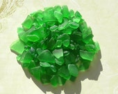 Genuine Sea Glass - Emerald Green - Bulk Supplies