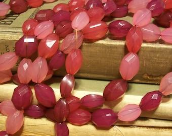Raspberry Sours Various Pink Bead Mix