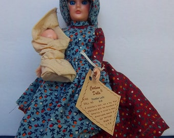 Carlson Dolls (R) Frontier Lady with baby