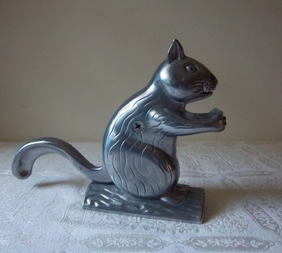 Heavy Metal Squirrel Nutcracker By Dayjahview On Etsy