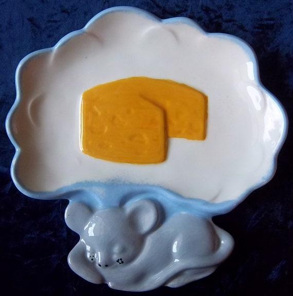 Sleeping Mouse Hors D Oeurves Plate