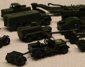 16 Pc. Vintage Dinky Toy Collection