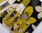 Five Designer Fabric Cash Envelopes