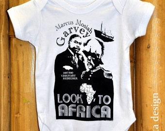 Marcus Mosiah Garvey Look to Africa Onesie