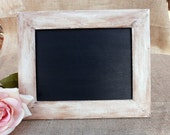 Rustic Wood Framed Chalkboard - MelindaWeddingDesign