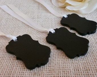 Chalkboard Favor Tags or Gift Tags - SET of 25