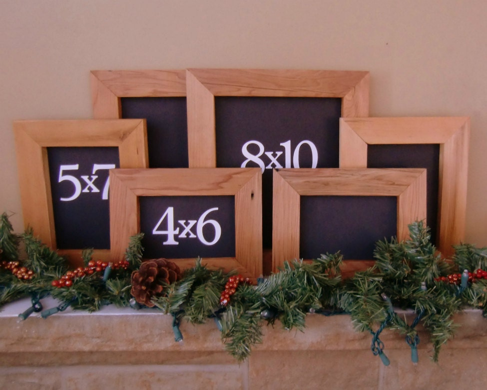 Picture Frame Six Frame Set 4x6 5x7 8x10 Picture Frame Set