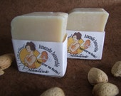 50% SALE - Almond generously emollient soap 120 grams