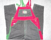 Reserved for nish Rare Vintage Deadstock Cross Colours Overalls Bibs jeans hip hop retro size 32 33 medium