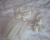 50s bridal gloves