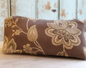Brown  Fabric Pouch