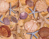 Sea Shells,, Sand Dollars, Conch Shells, Starfish, WATERCOLOR PAINTING- beach, all occasion card,