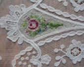 Lacy dolie with petit  point roses