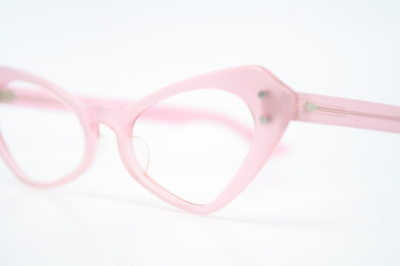 Cat eye glasses pink authentic vintage eyewear for women retro cateye eyeglass frames 1950 1960 cats eye glasses vintage
