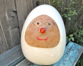 On HOLD for Don:  Vintage Tackett Cookie Jar Egghead Lagardo Tackett  RARE 1958 Eames Modern Mid Century