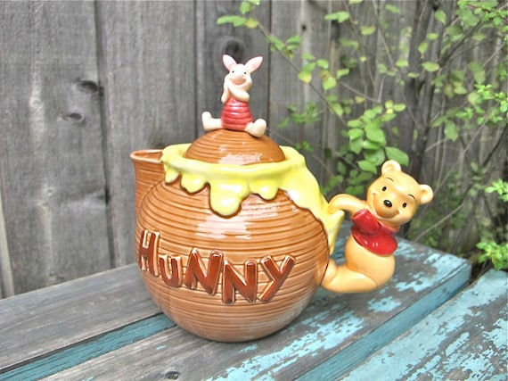 Vintage Winnie the Pooh Teapot Collectible Disney Japan