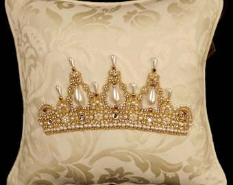 CLEARANCE!  Diana Tiara Pillow