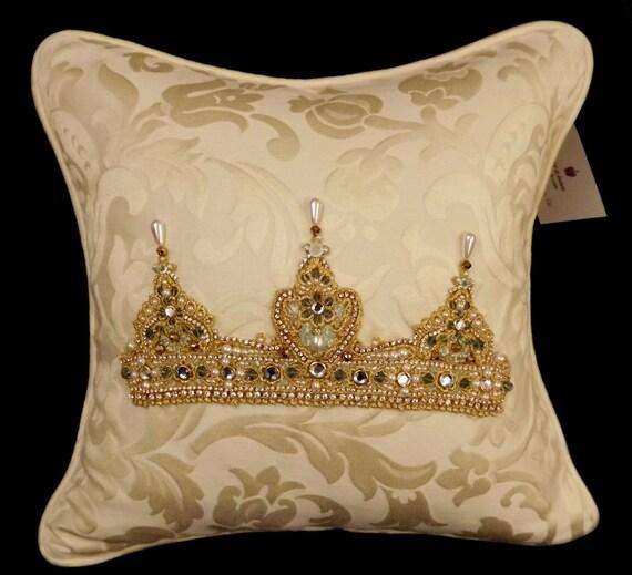 CLEARANCE!  Arabesque Tiara Pillow