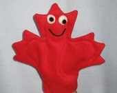 Maple Leaf Hand Puppet