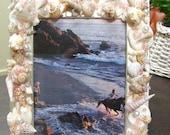 Beaded Seashell Frame