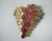 Wine Cork Mizpah Heart Wall Decor Hanging Mothers Day Gift