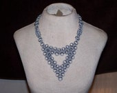 epic triangle chainmaille necklace