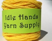 Yellow Tarn Recycled T Shirt Yarn - 64.25 Yards 8 WPI