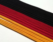 Crafting Cords - Red, Yellow, and Black